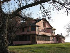 The Pickler Mansion in Faulkton, South Dakota, is the former home of our first Congressman, John A. Pickler and his wife, Alice, who was a noted suffragist. The 19-room-mansion features an incredible 2,500 volume library and 19 other rooms. Visit http://www.faulktoncity.org/historic_sites.htm for more information.