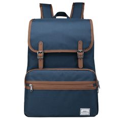 Laptop Backpack, Lightweight College School Backpack,Travel Every Day Backpack,ULAK Slim Anti Theft Computer Book Bags Water-resistant Eco-friendly Bag Fits Under Laptop & Note Book- Navy Blue Laptop Backpack, Travel Backpack, Fashion Backpack, Day Backpacks, School Backpacks, Computer Books, Eco Friendly Bags, Business Laptop, Messenger Bag Men