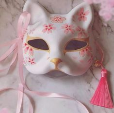 Japanese Fox Hand-painted Cosplay Mask A cool cosplay Japanese style anime fox mask, painted with high quality dye. Great for Halloween, Cosplay, performances! Cosplay Outfits, Anime Outfits, Mode Outfits, Kawaii Fashion, Lolita Fashion, Kitsune Maske, We All Mad Here, Japanese Fox Mask, Kawaii Room