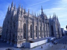 Duomo Cathedral -- Milan I want to walk the roof again! This time with my beloved wife.