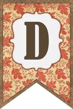 D Fall Banner (The Cottage Market)