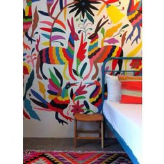 wallpainting rug
