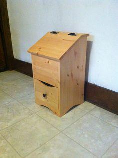 Wooden potato and onion storage bin by StockwellCreek on Etsy ...