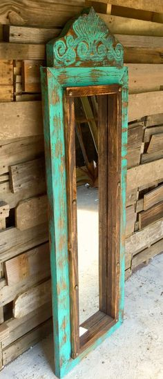 Agave Medium Floor Mirror - Sofia's Rustic Furniture