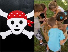 pirates digging for treasure