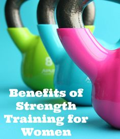 Benefits of Strength Training for Women  First and foremost in order to understand the benefits of strength training for weight loss, we must first uncover a few myths and misconceptions associated with strength (resistance) training.