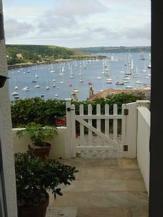 View over Falmouth Harbour