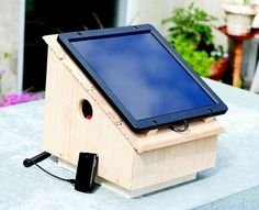 Build your own solar charger to keep your gadgets powered when you're off the grid.
