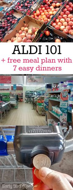 Life Hacks : Have you ever shopped at ALDI? Get started with a free printable meal plan for… Have you ever shopped at ALDI? Get started with a free Aldi Meal Plan, Easy Meal Plans, Free Meal Plans, Meal Prep, Food Prep, Cheap Meal Plans, Budget Meal Planning, Cooking On A Budget, Food Budget
