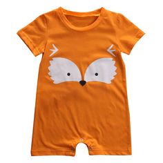 Funky Fox Romper Soft and Comfortable Baby & Toddler Clothing!