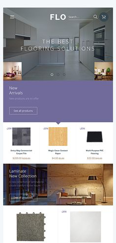 Interior & Furniture website inspirations at your coffee break? Browse for more OpenCart #templates! // Regular price: $89 // Sources available: .PSD, .PNG, .PHP, .TPL, .JS #Interior & Furniture #OpenCart