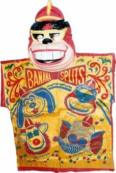 "Vintage ""Bingo"" from the Banana Splits costume"