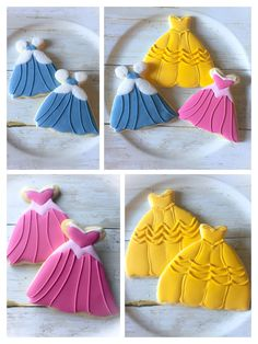Disney Princess Cookies, Princess Disney, Disney Princesses, Princess Aurora Party, Princess Belle, Disney Snacks, Disney Disney, Cookies For Kids, How To Make Cookies