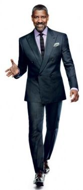 Behind the scenes of Denzel Washington's October 2012 GQ Magazine cover shoot
