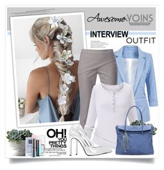 60secondstyle by sneky on Polyvore featuring polyvore fashion style WtR London Yves Saint Laurent MAC Cosmetics Nails Inc. clothing jobinterview 60secondstyle