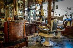 Antigua peluquería, Buenos Aires