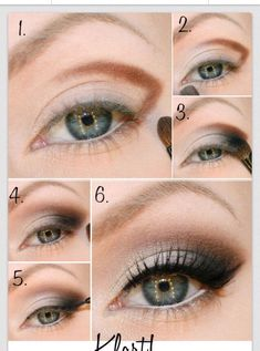 """ Nice Eyeshadow Step By Step ""Plz like before saving"