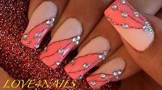 Thread Nail Art Design by LOVE4NAILS - Nail Art Gallery nailartgallery.nailsmag.com by Nails Magazine www.nailsmag.com #nailart