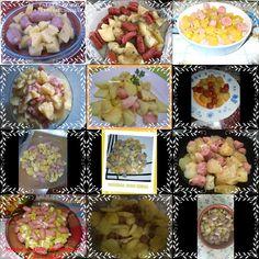 La cocina de Virtu: I Desafío con el microondas : PATATAS AL AJILLO CO...