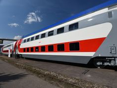 RZD's double-deck seating cars to enter service this month -  Tver Carriage Works double-deck seating coach for Russian Railways' Federal Passenger Co.