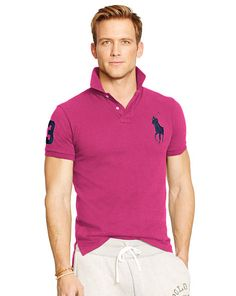 Custom-Fit Big Pony Polo - Polo Ralph Lauren Custom Fit  - RalphLauren.com