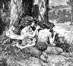 Flute Players ll - Franklin Booth