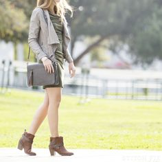 Stitch Fix: How To wear Booties with a Dress