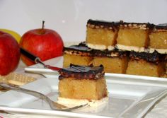 Kekszes almás süti recept foto Cheesecake, Goodies, Food And Drink, Sweets, Cooking, Blog, Christmas Foods, Recipes, Kitchens