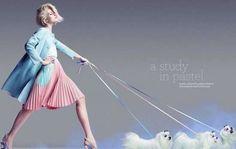 #ranitasobanska #fashion #inspirations Candy-Colored Editorials : olivia chrobot marie claire australia