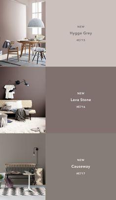 CIN Color Trends for Interiors 2018 #colorrevelation #colortrends #colorcards #tintascin #decoração #cores #tendências #neutrals #hygge #lavastone #causeway www.colorrevelation.com