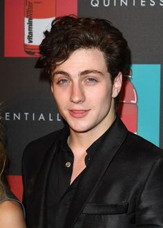 Aaron Johnson at the 62nd Annual Cannes Film Festival 'Nowhere Boy' After Party in 2009.
