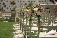 Decoración para bodas vintage
