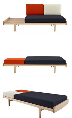 Daybed inspired to Fifties - Ligne Roset @ligneroset