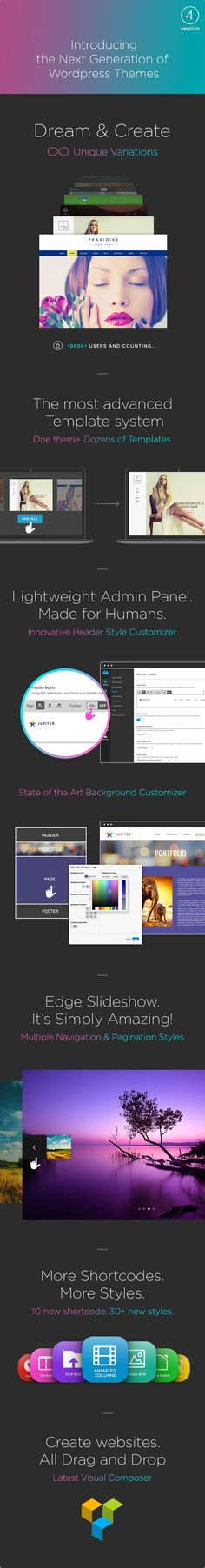 Jupiter - Multi-Purpose Responsive Theme | Wordpress, Wordpress ...