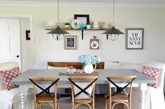 Get the Look: Modern Farmhouse Kitchen - Beneath My Heart