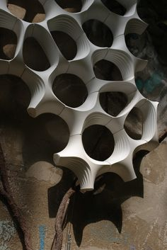 Biomorphic geometric organic abstract on pinterest 3d for Sideboard 04800