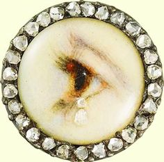Eye of a lady, ca 1905, The Royal Collection. –