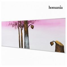 OIL PAINTING PURPLE TREE BY HOMANIA - Bledoncy