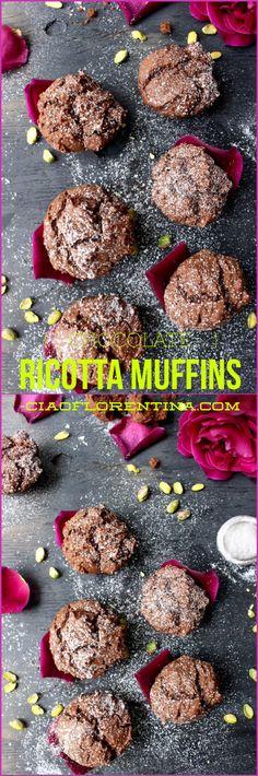 Chocolate Ricotta Muffins | CiaoFlorentina.com
