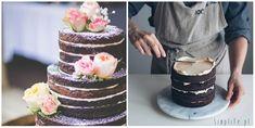 Nagie torty, minimalistyczny tort weselny. - simplife.pl