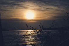 Dark sunset in Venice by Dreamy Pixel on Creative Market