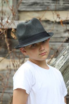 Joshua Photo Shoot With Fedora Hat  #JerryGrugin