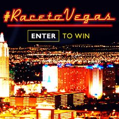 Enter our #RaceToVegas Sweepstakes now to win your Dad the ultimate Vegas driving experience for #FathersDay!