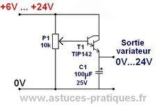 variateur de vitesse pour moteur a courant continu 1