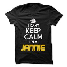 Keep Calm I am ... JANNIE - Awesome Keep Calm Shirt ! - #gift for women #cheap gift. BUY-TODAY  => https://www.sunfrog.com/Hunting/Keep-Calm-I-am-JANNIE--Awesome-Keep-Calm-Shirt-.html?id=60505