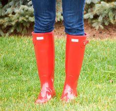 Patterns + Rain Boots - Style & Sequins