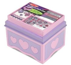 Melissa & Doug Jewelry Box - DYO  Order at http://www.amazon.com/Melissa-Doug-Jewelry-Box-DYO/dp/B002LT6DV8/ref=zg_bs_3888431_40?tag=bestmacros-20