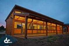 Air flow barn