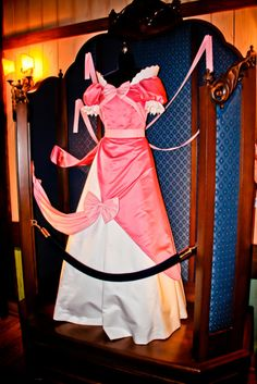 The mice dress (Cinderella). I hated when her stepsisters destroyed this dress!