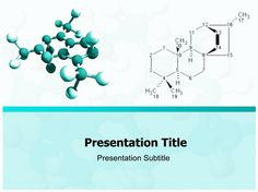 Molecule PowerPoint Template | Free Powerpoint Templates | Stuff to ...